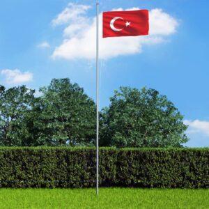 Türgi lipp 90 x 150 cm