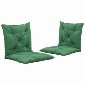 aiakiige istmepadjad 2 tk roheline 50 cm