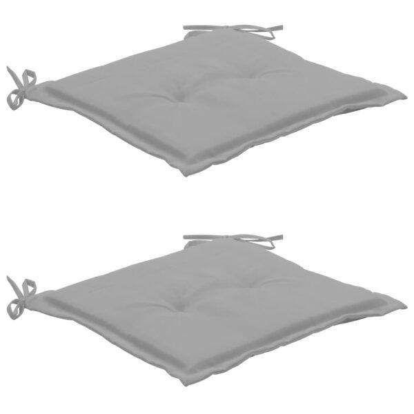 aiatooli istmepadjad 2 tk hall 50 x 50 x 3 cm