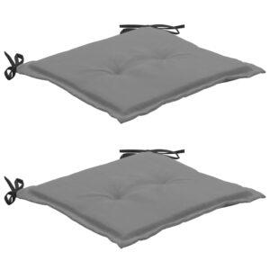 aiatooli istmepadjad 2 tk must ja hall 50 x 50 x 3 cm