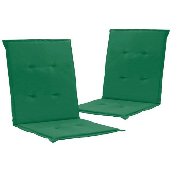 aiatooli istmepadjad 2 tk roheline 100 x 50 x 3 cm