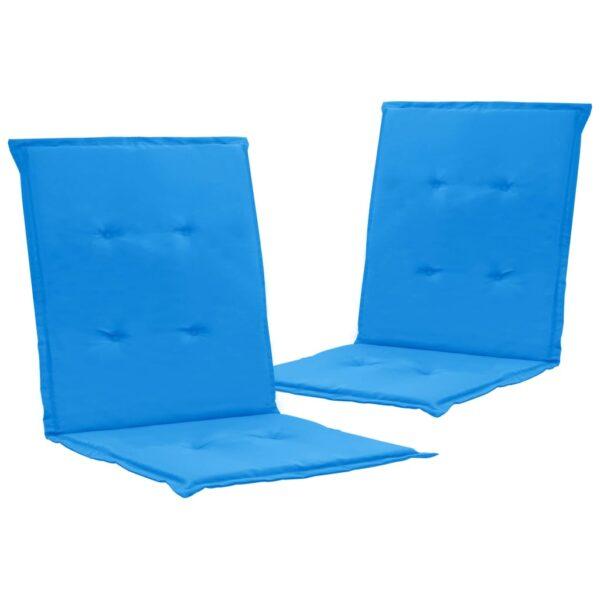 aiatooli istmepadjad 2 tk sinine 100 x 50 x 3 cm