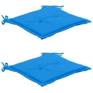aiatooli istmepadjad 2 tk sinine 50 x 50 x 3 cm
