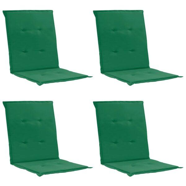 aiatooli istmepadjad 4 tk roheline 100 x 50 x 3 cm
