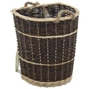 küttepuude seljakott kanderihmadega 44