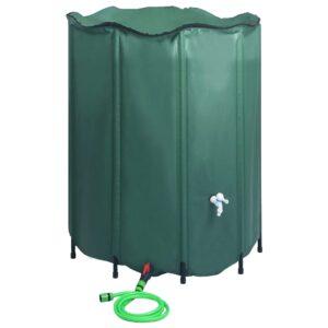 kokkupandav vihmaveepaak kraaniga 1000 l