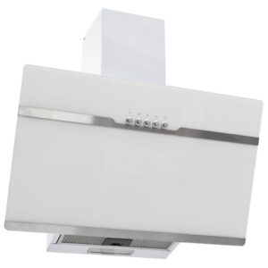 pliidikubu 60 cm roostevaba teras ja karastatud klaas valge