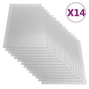 polükarbonaadi lehed 14 tk
