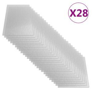 polükarbonaadi lehed 28 tk