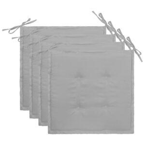 aiatooli istmepadjad 4 tk hall 40 x 40 x 3 cm