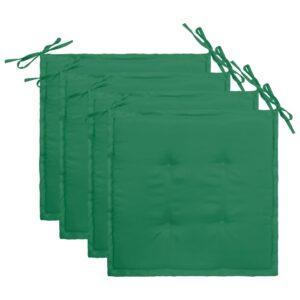 aiatooli istmepadjad 4 tk roheline 40 x 40 x 3 cm