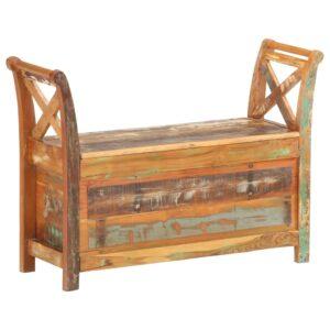 esikupink 103 x 33 x 72 cm taaskasutatud puidust