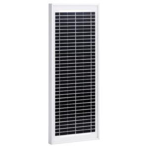 päikesepaneel 10 W polükristalliline alumiinium ja turvaklaas