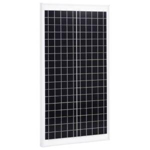 päikesepaneel 30 W polükristalliline alumiinium ja turvaklaas