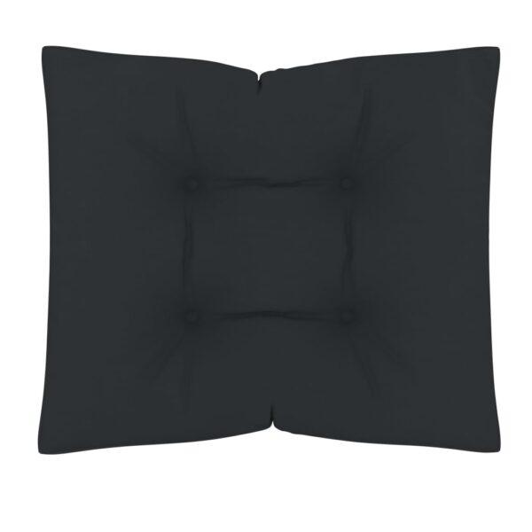 põrandapadi/euroaluse istumispadi 60 x 61 x 10 cm antratsiit