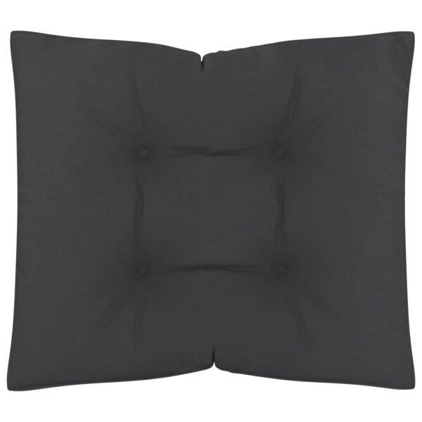 põrandapadi/euroaluse istumispadi 60 x 61 x 10 cm must