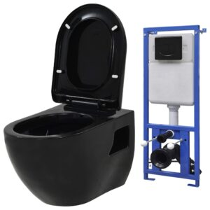 seinale kinnituv WC-pott peidetud loputuskastiga