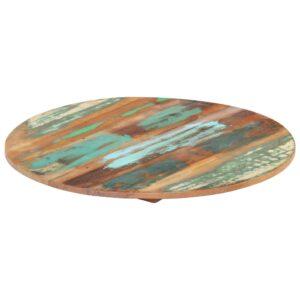 ümmargune lauaplaat 60 cm 15–16 mm toekas taaskasutatud puit