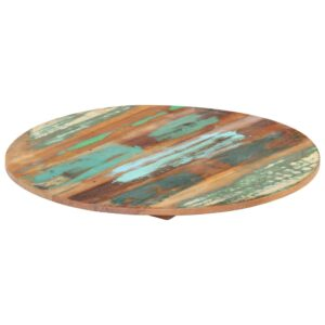 ümmargune lauaplaat 80 cm 15–16 mm toekas taaskasutatud puit