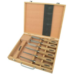 Brüder Mannesmann 7-osaline puunikerduse tööriistade komplekt