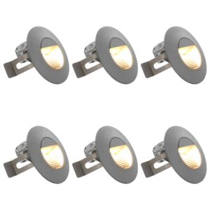LED-seinavalgustid õue 6 tk