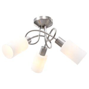 laelamp keraamiliste varjudega 3 E14 pirni jaoks