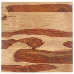 lauaplaat tugevast India roosipuust 25–27 mm 70 x 70 cm