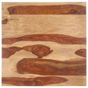 lauaplaat tugevast India roosipuust 25–27 mm 80 x 80 cm