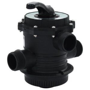 mitme avaga ventiil liivafiltrile ABS 38 mm 6-osaline
