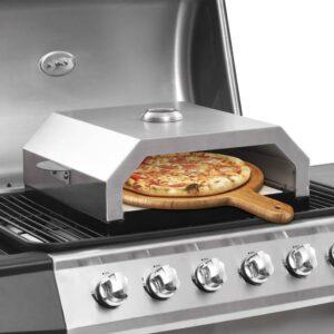 pitsaahi keraamilise kiviga gaasigrillile