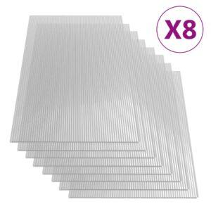 polükarbonaadi lehed 8 tk