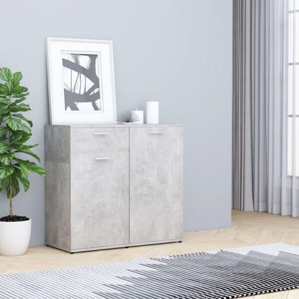 puhvetkapp betoonhall 80 x 36 x 75 cm