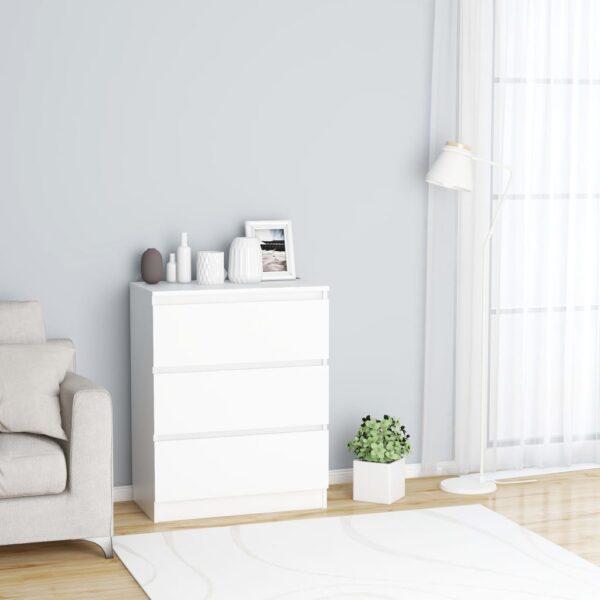 puhvetkapp valge 60 x 35 x 76 cm
