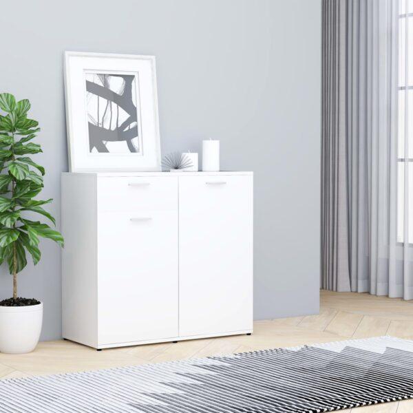 puhvetkapp valge 80 x 36 x 75 cm