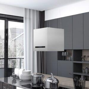 rippuv köögisaare kubu puutetundlik LCD 37 cm roostevaba teras