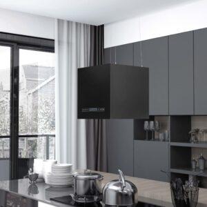 rippuv köögisaare kubu puutetundlik LCD 37 pulbervärvitud teras