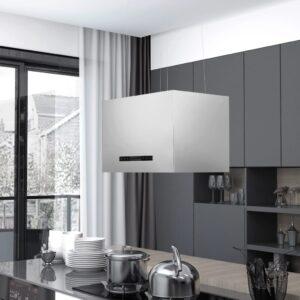 rippuv köögisaare kubu puutetundlik LCD 55 cm roostevaba teras