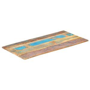 ristkülikukujuline lauaplaat 60x100 cm 15–16 mm taastatud puit