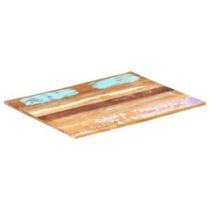 ristkülikukujuline lauaplaat 60x70 cm 15–16 mm taastatud puit