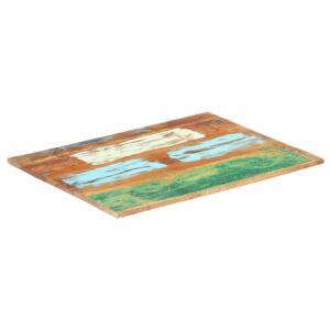 ristkülikukujuline lauaplaat 60x90 cm 15–16 mm taastatud puit