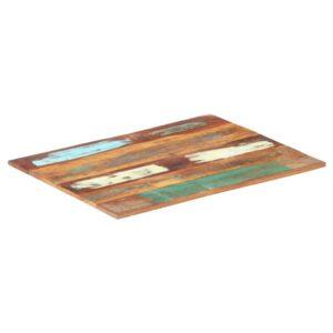ristkülikukujuline lauaplaat 70x90 cm 15–16 mm taastatud puit
