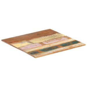 ruudukujuline lauaplaat 60 x 60 cm 15–16 mm taaskasutatud puit