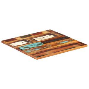 ruudukujuline lauaplaat 60x60 cm 25–27 mm taaskasutatud puit