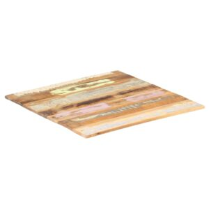 ruudukujuline lauaplaat 70x70 cm 15–16 mm taaskasutatud puit