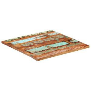 ruudukujuline lauaplaat 70x70 cm 25–27 mm taaskasutatud puit
