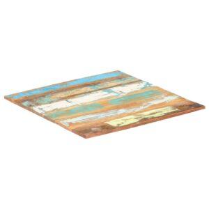ruudukujuline lauaplaat 80x80 cm 15–16 mm taaskasutatud puit