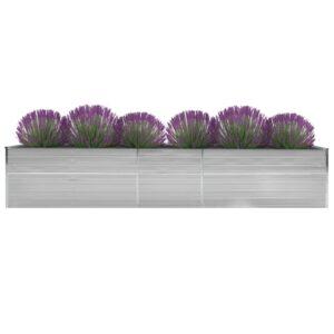 aia taimelava tsingitud teras 400 x 80 x 45 cm hall