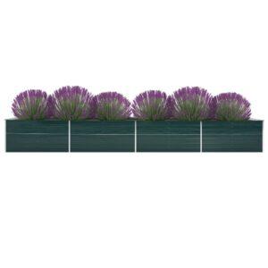 aia taimelava tsingitud teras 600 x 80 x 45 cm roheline