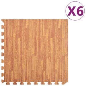 põrandamatid 6 tk puidukiud 2