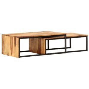 üksteise alla mahtuvate laudade komplekt 2 tk
